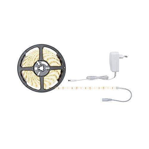 Paulmann 78972 SimpLED Strip Set 5 m LED Stripe 17W Lichtstreifen 3.000 K Warmweiß Lichtband beschichtet