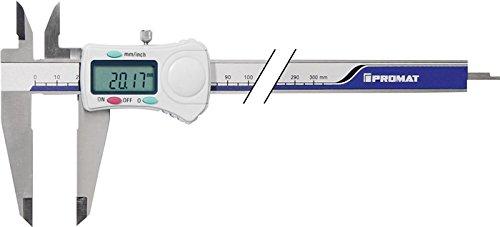 PROMAT Digital-Messschieber DIN862 300 mm mit Feststellschraube für Innen-, Außen- und Tiefenmessung (Art.-Nr. 4000851059)