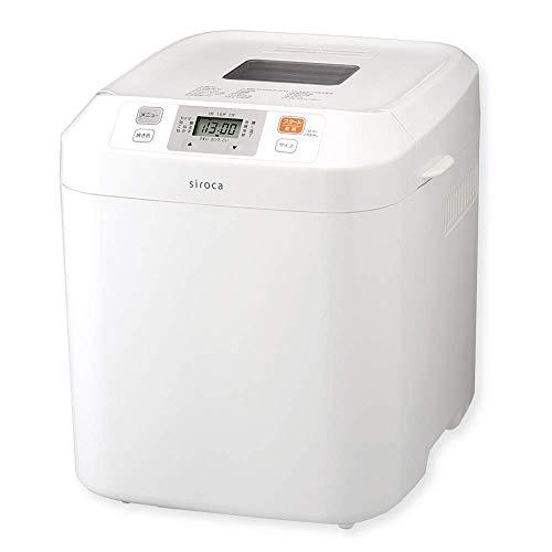 siroca 全自動ホームベーカリー SHB-122[タイマー/最大2斤/ ジャム/バター/蕎麦/うどん/餅つき機/レシピ付]