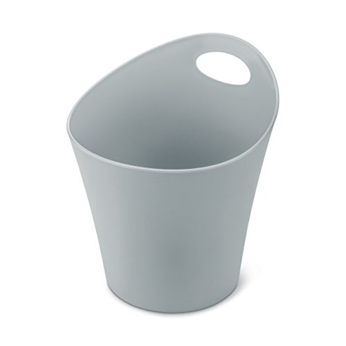 koziol pot à découpe 3 l Potichelli L, thermoplastique, gris, 21 x 19 x 23 cm