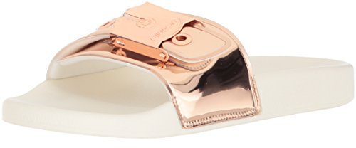 Dr. Scholl's Women's OG Poolslide Slide Sandal,Rose Gold,11 M US
