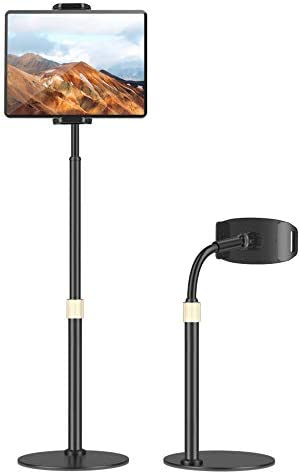Tablet Holder Stand Tryone Adjustable iPad Holder Stand with Adjustable Height 360 Degree Rotating product image
