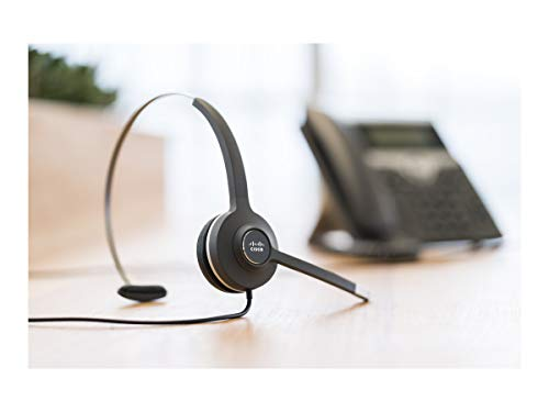 Cisco SYSTEMS CP-HS-W-531-RJ 531 Wired Single - Headset - on-ear - wired - for IP Phone 68XX 78XX 88XX Unified IP Phone 79XX - (Cables > Other Cables) +}