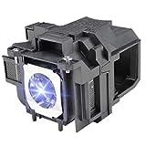 LBTbate ELPLP88 Replacement Bulb V13H010L88 for V13H010L78 EPSON PowerLite Home...