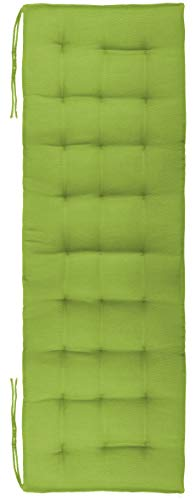 Brandsseller - Cuscino per panchina, ideale per ambienti interni ed esterni, con 27 cuciture trapuntate, da 120 x 40 x 4 cm