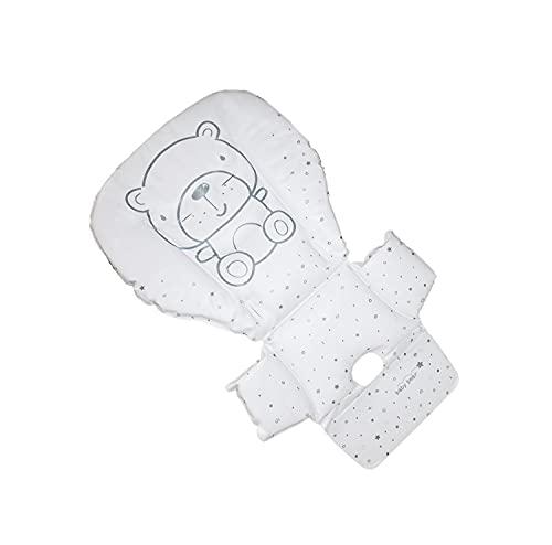 IMBOTTITURA RICAMBIO PER SEGGIOLONE PAPPA stoffa PVC (247 TEDDY GRIGIO)