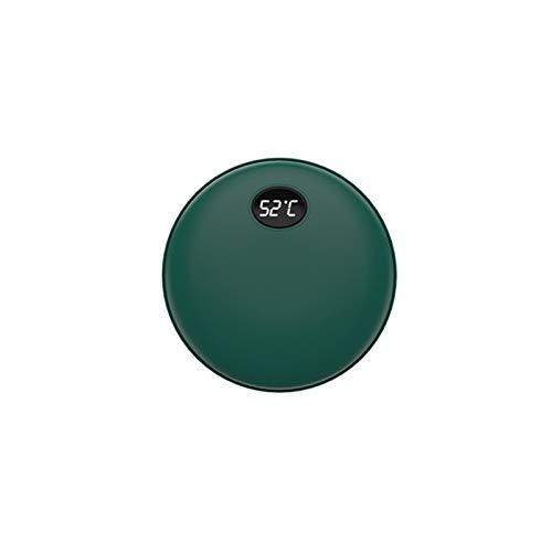 WANGYIYI Calentador de la Mano 2 en 1 Multifuncional USB Recargable Mano Calentador 5200mAh Power Bank Portátil Calefacción de Doble Cara Calentadores eléctricos (Color : T5HE)