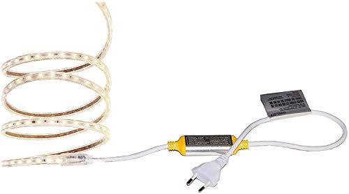 Ogeled Z60 Plus 3Chips LEDs Warmweiß led Strip Streife wasserfest IP65 230v Dimmbar (Größe, 7 Meter)