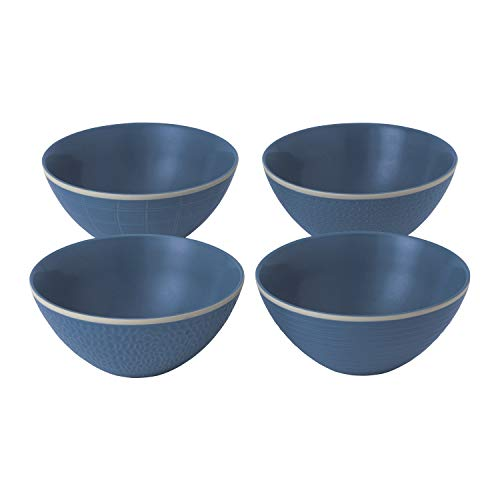 Gordon Ramsay exclusively for Royal Doulton 40034507 Maze Grill Collection Bol, bleu