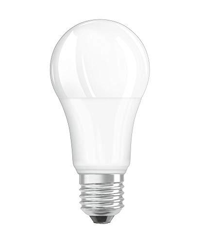 OSRAM Dimmbare LED Lampe mit E27 Sockel, Warmweiss (2700K), klassische Birnenform, 13W, Ersatz für 100W-Glühbirne, matt, LED SUPERSTAR CLASSIC A
