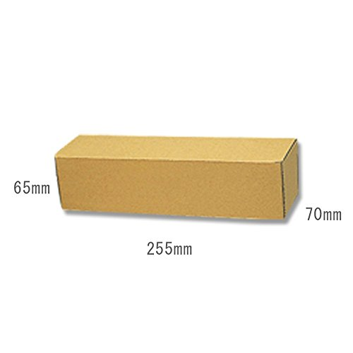 ヘイコー 箱 ワインハーフ1本 ナチュラルボックス Z-31 7x25.5x6.5cm 10枚