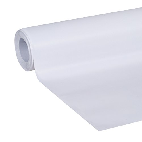 Duck Smooth Top EasyLiner, 20-inch x 6 Feet, x 6 Rolls, White