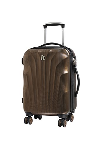 it Luggage Momentum 8 Wheel Hard Shell Single Expander Suitcase with TSA lock