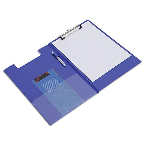 Rapesco VFDCB0L3 Carpeta Portapapeles con Pinza - Azul