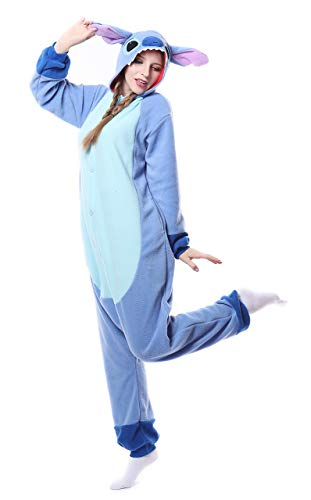 FunnyCos Unisex Animal Onesie Adult Halloween Pyjamas Cosplay Costume Hooded...