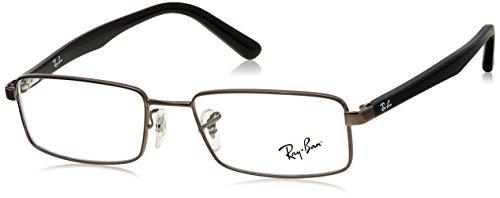 Ray-Ban RX6268I-2502-51 Monturas de gafas, Plateado (Silver), 51.0 para Hombre