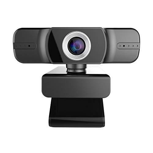 lailongp - Cámara web (USB, 1080p, con micrófono doble)