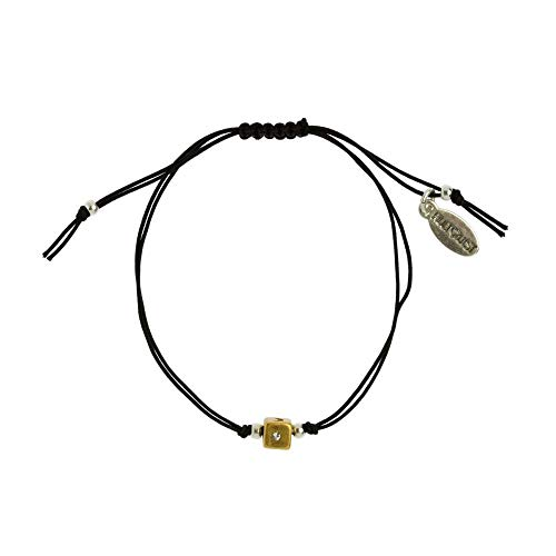 Hultquist Armband Dice Würfel Bicolour Black