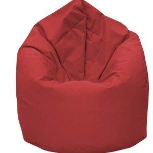 GiantBag Pouf en forme de poire - Pour l'intérieur et l'extérieur - Pour enfants et adultes
