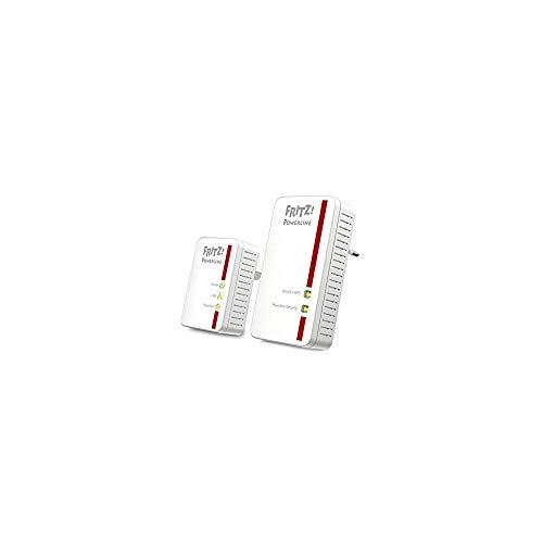 Scopri offerta per AVM FRITZ! Powerline 540E WLAN Set International Adattatore, PLC, Compatibile HomePlug AV2, IEEE P1901, 500 Mbps, Punto di Accesso WiFi integrato N, 2 Porte LAN Fast Ethernet, Interfaccia in Italiano