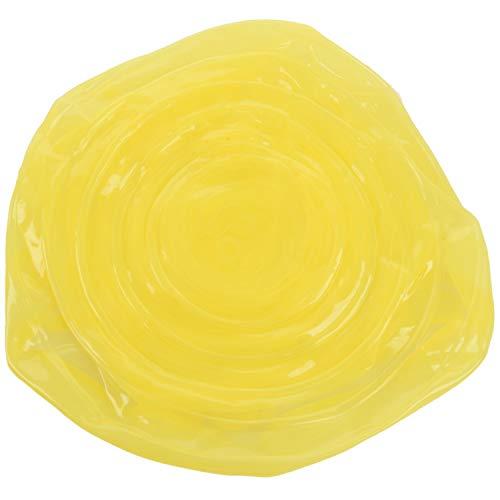 LilyJudy 12 tapas de silicona elásticas reutilizables tapas extensibles de silicona universal/almacenamiento de alimentos, apto para microondas/horno/nevera