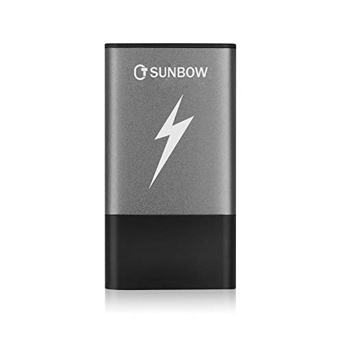 TCSUNBOW Portable Solid State Drive External 120GB 240GB SSD With Type C and USB3.0 Interface High Speed USB Flash Drive (120GB)