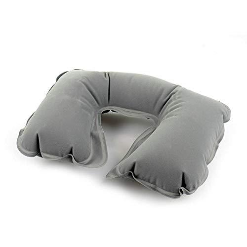 YJYDD Cojín inflable del cuello del viaje de la almohada del aire de la ayuda del resto de la