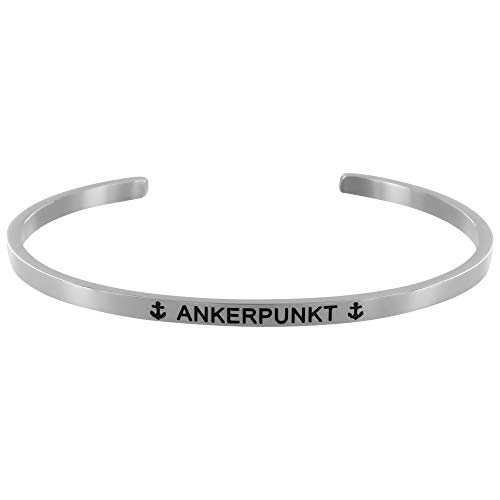 ANKERPUNKT Damen Armreif silber verstellbar Made in Germany