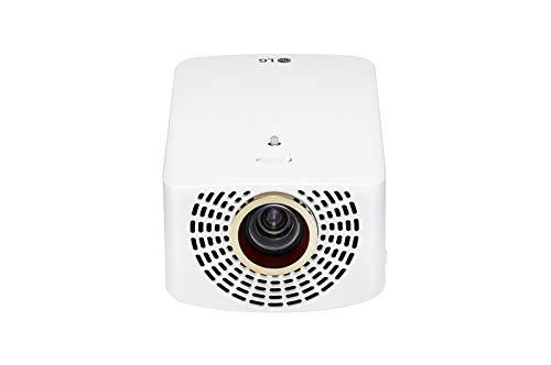 LG Cinebeam HF60LSR - Proyector TV (Hasta 120', Fuente Led, 1.400 Lúmenes, Resolución 1920 X 1080) Color Blanco