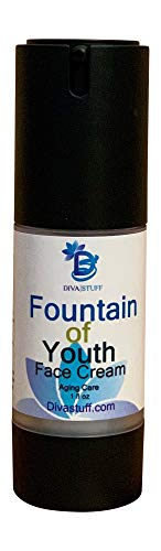 Anti Aging Face Cream Made Using Water From the Fountain of Youth & Argan Oil, By Diva Stuff
