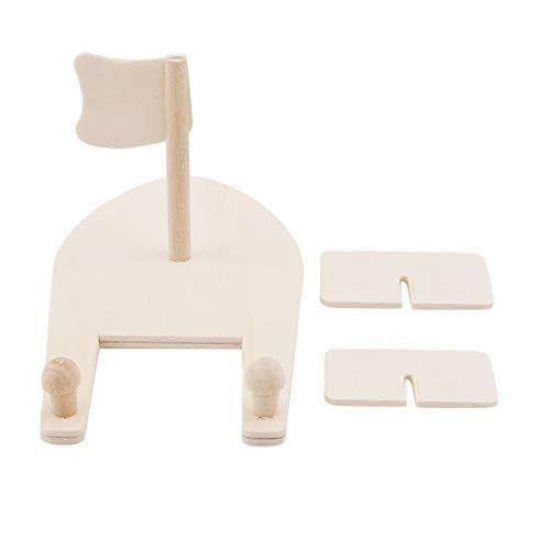 Kaned Kit de madera de velero de juguetes de bricolaje de madera de pintura y decoración de madera de velero kits de manualidades