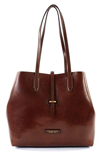 The Bridge Dalston Schultertasche Leder 32 cm