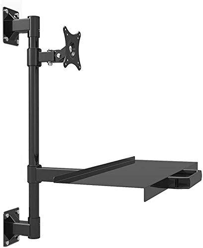 WEIJINGRIHUA Control industrial montaje en pared monitor teclado titular suspensión tubería Worktop