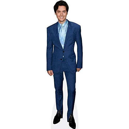 Celebrity Cutouts Cole Sprouse (Blue Suit) Pappaufsteller Mini