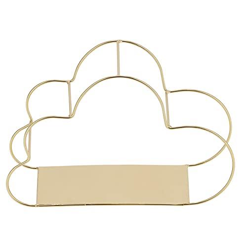 Schmuckständer Eisenmaterial Wolkenform Wandhalterung Schwebende Regale Einfaches Design Home Office Wandorganisation