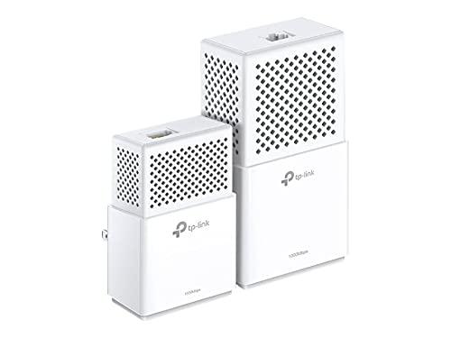 TP-Link CPL WiFi AC 750 Mbps + CPL 1000 Mbps avec Port Ethernet Gigabit, Kit de 2 - Solution idéale pour profiter du service Multi-TV à la maison, TL-WPA7510 KIT