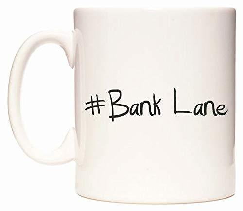 #Bank Lane Mug Cup by WeDoMugs