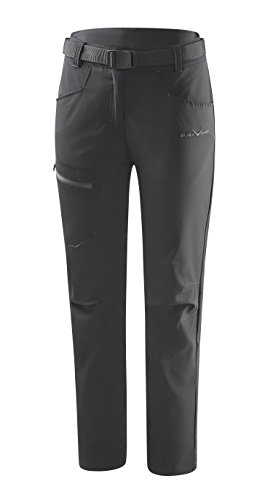 Black Crevice Damen Trekking Hose, schwarz, 36
