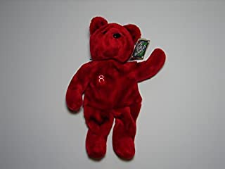 Salvino's Big Bammers J.D. Drew #8 Jan 1999 Plush Teddy Bear 14 by Salvino's