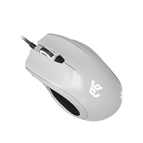 EpicGear Cyclops X Maus USB Optisch 5000 DPI - Mäuse (rechts, Optisch, USB, 5000 DPI, Schwarz, Weiß)