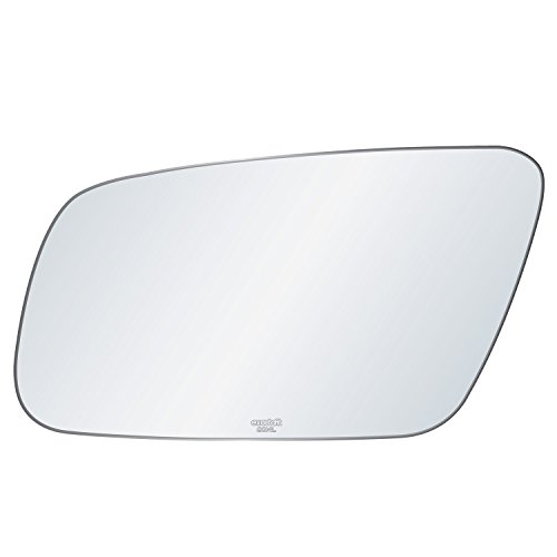 exactafit Driver Side Rear View Mirror Glass Compatible With Audi A4 Quattro A6 A8 S4 S6 S8 Left Hand Side Lower Flat Fit Mirror 8014L Adhesive Install RH