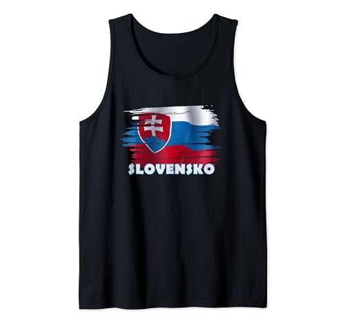 Slowakei Fanartikel Slovensko Tank Top