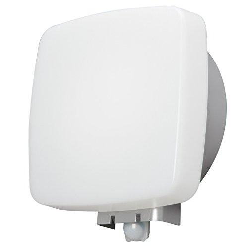 アイリスオーヤマ 屋外センサーライト ウォールタイプ 角型 白色 BOS-WN1K-WS