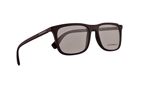 Emporio Armani EA3110 Brillen 53-18-140 Bordeaux Schwarz Mit Demonstrationsgläsern 5601 EA 3110