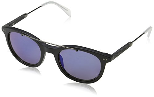 Tommy Hilfiger TH 1348/S XT JU4 49 Montures de lunettes, Noir (Bkrut/Blue), Homme