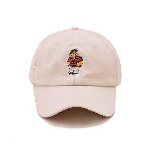 Yifuty Animado gorra de sarga gorra de béisbol casquillo de la granja del sombrero del algodón del casquillo del carro del sombrero del oso de secado rápido tapa de ocio al aire libre gorra de béisbol