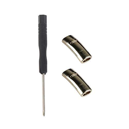 jiutinggood Schnürsenkel mit Knöpfen, freie Schnürung, elastisch, für Damen und Herren, Metall magnetische Schnalle Schwarz Schwarz