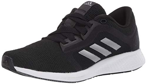 adidas mens Edge Lux 4 Running Shoe, Black/Silver/White, 10 US