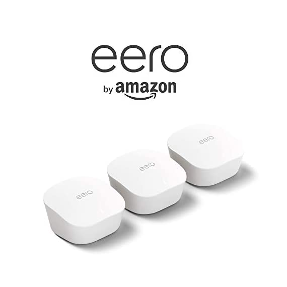 Amazon eero mesh WiFi system – router replacement for whole-home coverage (1 eero router + 2 Beacons) 4 Fast standalone router - The eero mesh WiFi router brings 1,500 sq. ft. of fast, reliable WiFi to your home. Maximum flexibility - Expand your system anytime with eero's cross-compatible hardware. Works with your internet service provider - eero connects to your modem to bring your existing internet connection to every corner of your home.