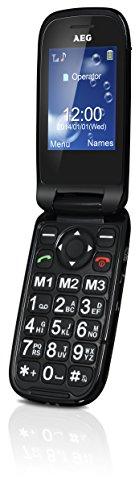 AEG Großtasten Klapp-Handy, Simlock frei mit 2.4